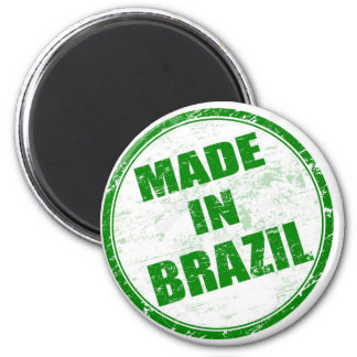 MADE IN BRAZIL 2 INCH ROUND MAGNET