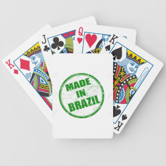 MADE IN BRAZIL POKER DECK