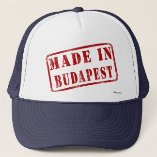 Made in Budapest Trucker Hat