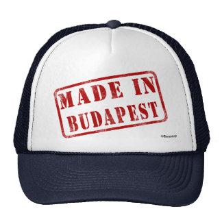 Made in Budapest Trucker Hat