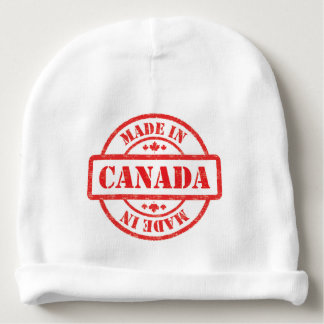 Made In Canada Eh? Baby Beanie
