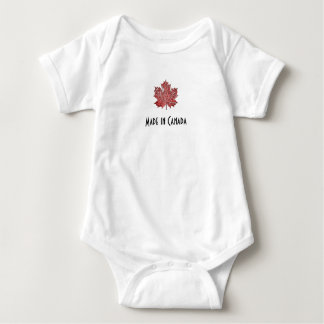Made in Canada, Maple Leaf bodysuit