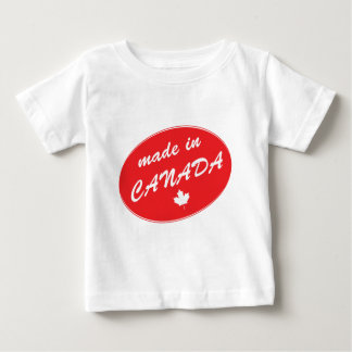 Made in Canada Red Baby T-Shirt