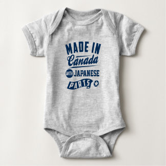 Made In Canada With Japanese Parts Baby Bodysuit