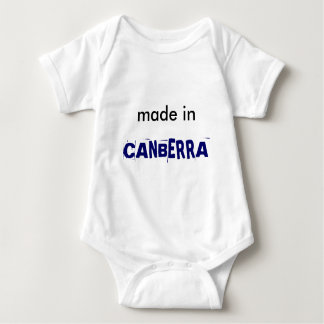 Made in Canberra Baby Shirt