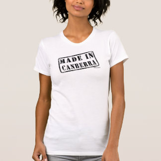Made in Canberra T-shirts
