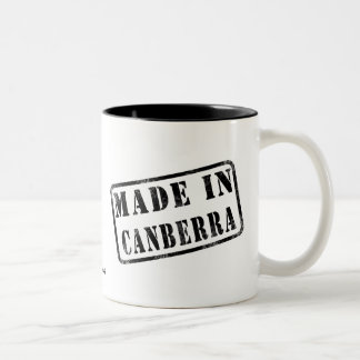 Made in Canberra Two-Tone Mug