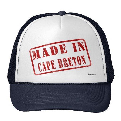 Made in Cape Breton Hat