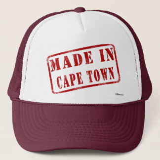 Made in Cape Town Trucker Hat