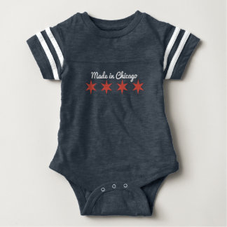 Made in Chicago Baby Jersey Romper