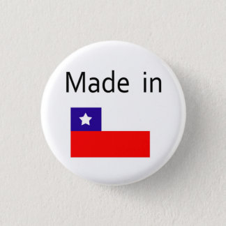 Made in Chile 1 Inch Round Button