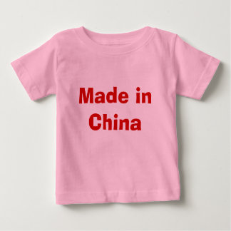 Made in China Baby T-Shirt