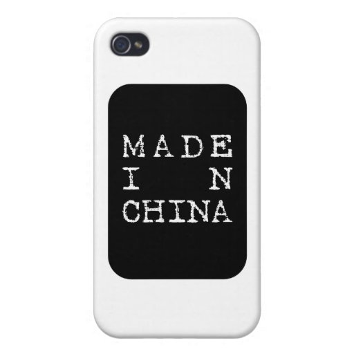 made in china iPhone 4 cases