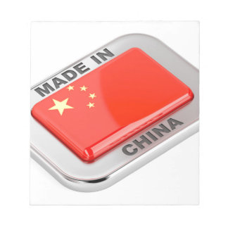 Made in China Notepad