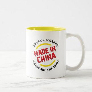 Made In China Two-Tone Coffee Mug