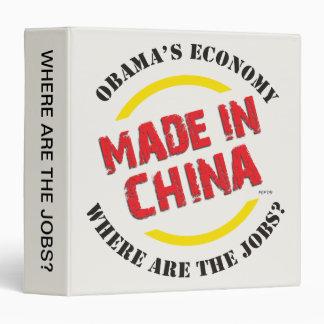 Made In China Vinyl Binders