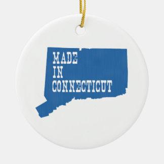 Made In Connecticut Ceramic Ornament