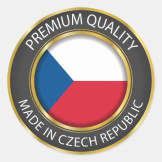 Made in Czech Republic Flag, Czech Seal