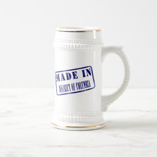 Made in District of Columbia 18 Oz Beer Stein