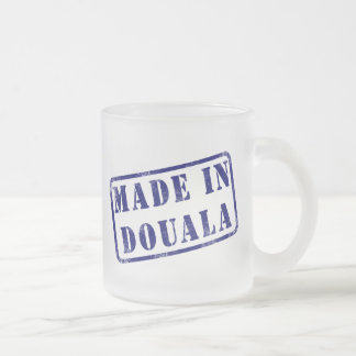 Made in Douala Frosted Glass Coffee Mug