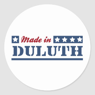 Made in Duluth Classic Round Sticker