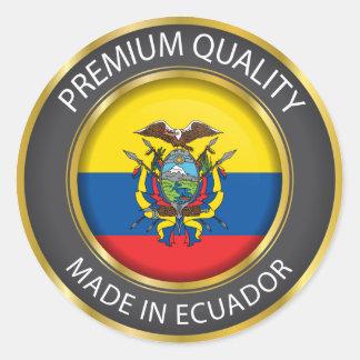 Made in Ecuador Flag, Republic of Ecuador Seal