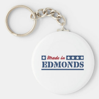 Made in Edmonds Keychain