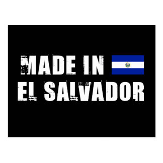 Made in El Salvador Postcard