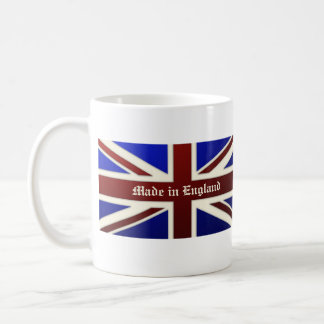 Made in England Metallic Union Jack Flag Coffee Mug
