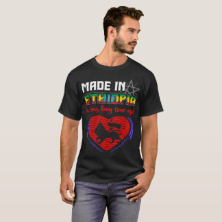 Made In Ethiopia Long Long Time Ago Pride Country T-Shirt