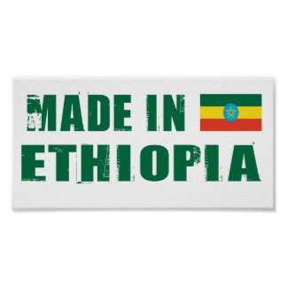 Made in Ethiopia Poster