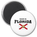 Made in Florida 2 Inch Round Magnet