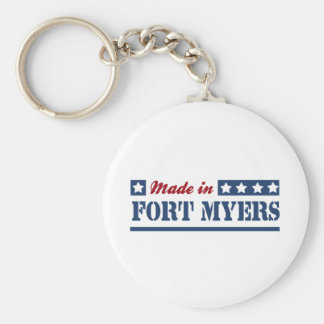 Made in Fort Myers Keychain