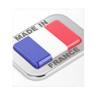 Made in France Notepad