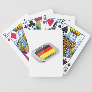 Made in Germany Bicycle Playing Cards