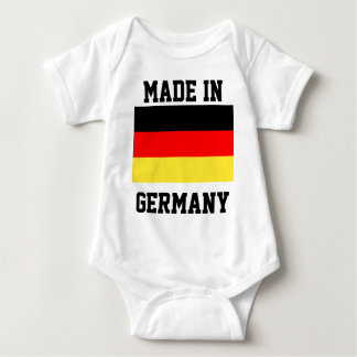 Made in Germany, just-for-fun baby bodysuit