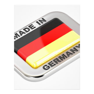 Made in Germany Letterhead