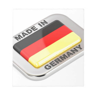 Made in Germany Notepad
