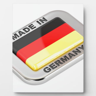 Made in Germany Plaque