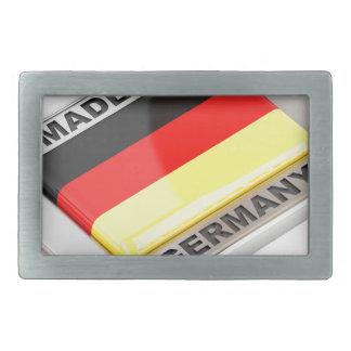 Made in Germany Rectangular Belt Buckle