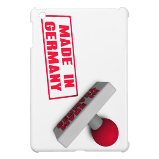 Made in Germany Stamp or Chop on Paper Concept Cover For The iPad Mini