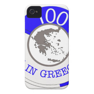 Made In Greece 100% iPhone 4 Case-Mate Cases