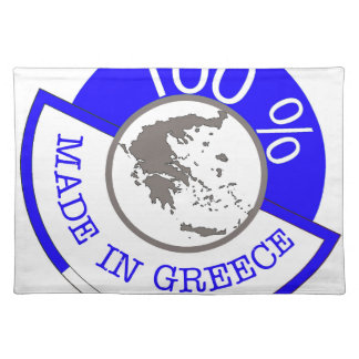 Made In Greece 100% Placemat