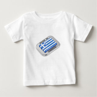 Made in Greece badge Baby T-Shirt