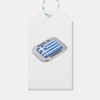 Made in Greece badge Gift Tags