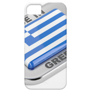Made in Greece badge iPhone 5 Covers