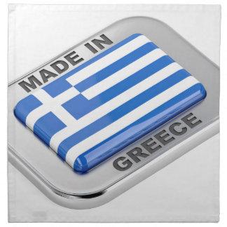 Made in Greece badge Napkin