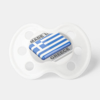 Made in Greece badge Pacifier