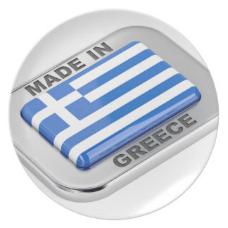 Made in Greece badge Plate
