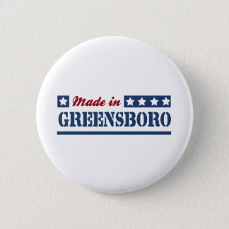 Made in Greensboro 2 Inch Round Button